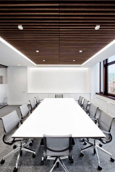 Thiết kế phòng họp nên đặt ở vị trí trung tâm của tòa nhà
