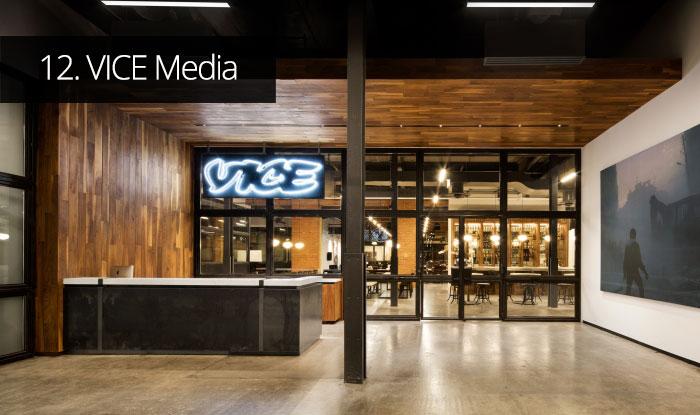 Thiết kế văn phòng VICE Media