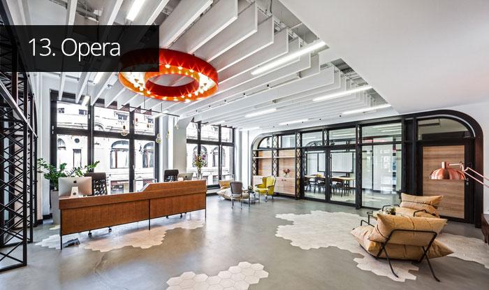 Thiết kế văn phòng Opera