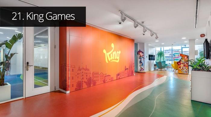 Thiết kế văn phòng King Games