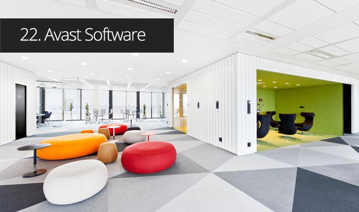Thiết kế văn phòng Phần mềm Avast