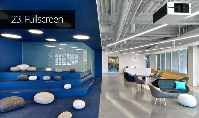 Thiết kế văn phòng Fullscreen