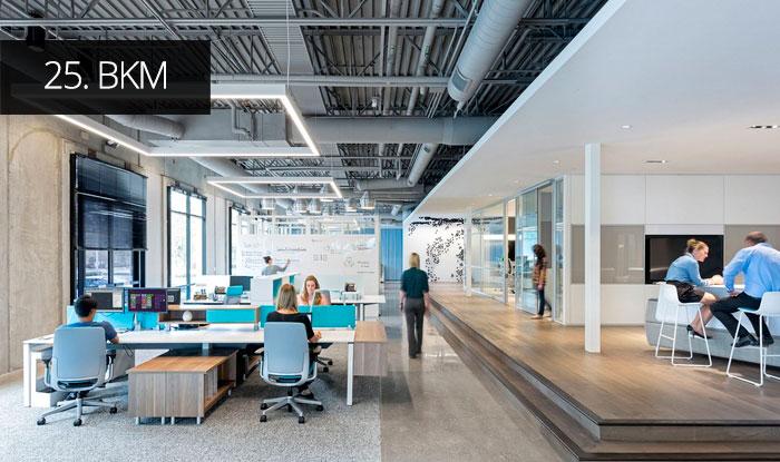 Thiết kế văn phòng BKM