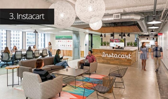 Thiết kế văn phòng Instacart