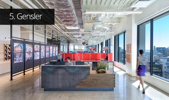 Thiết kế văn phòng Gensler