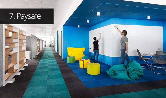 Thiết kế văn phòng Paysafe