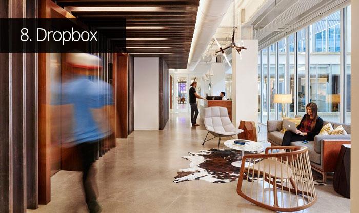 Thiết kế văn phòng Dropbox