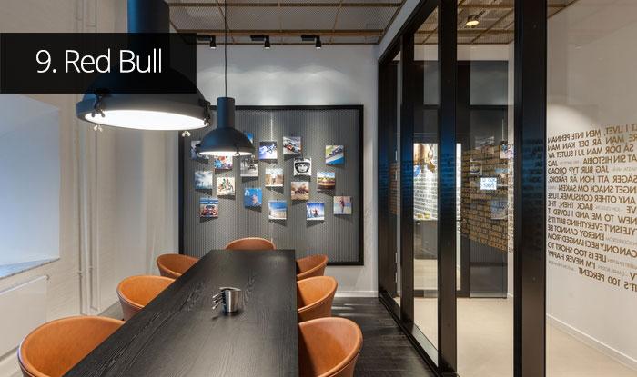 Thiết kế văn phòng Red Bull