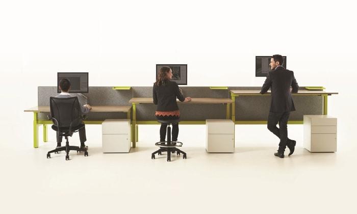 Mô hình làm việc văn phòng khép kín