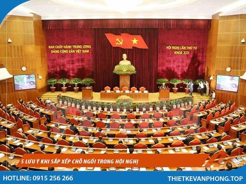 5 Lưu ý Khi Sắp Xếp Chỗ Ngồi Trong Hội Nghị