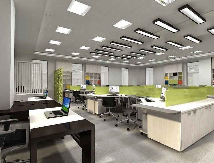 Một trong những nguyên tắc bố trí phòng làm việc là thiết kế nội thất văn phòng hợp lý