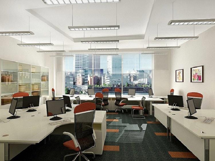 Lựa chọn nội thất cho văn phòng nhà phố cần có tính hợp lý với không gian