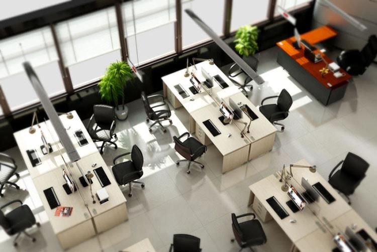 Phòng làm việc được sắp xếp khoa học sẽ giúp nhân viên làm việc hiệu quả hơn