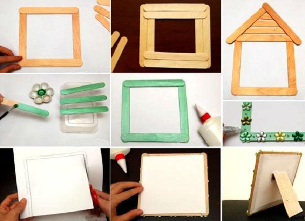 Những chiếc khung ảnh rất dễ để tự làm ra
