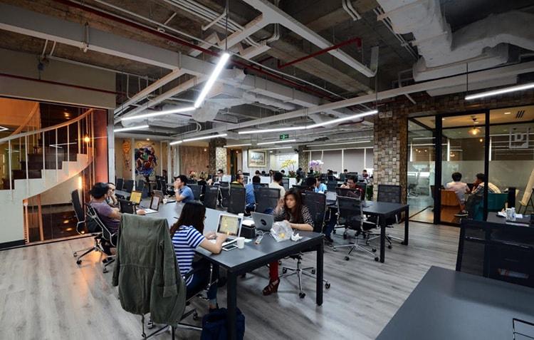 Văn phòng chia sẻ mang lại sự thoải mái cho người đến làm việc