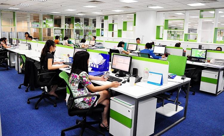 Văn phòng làm việc càng chuyên nghiệp càng tạo sức hút đối với người tuyển dụng