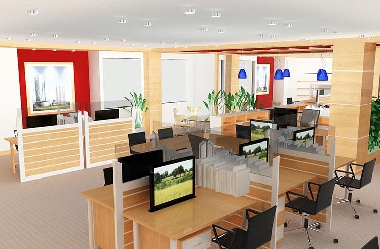 Không gian làm việc đẹp hơn nhờ cách sắp xếp nội thất phù hợp