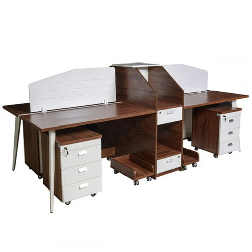 Module bàn làm việc cho văn phòng có diện tích lớn
