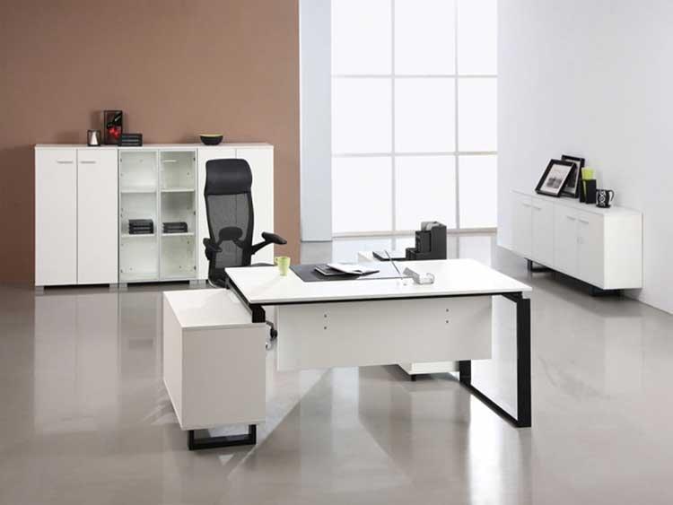 Những lưu ý khi thiết kế bàn làm việc phòng giám đốc