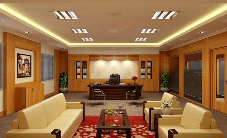 Thiết kế phòng giám đốc với những nội thất phù hợp