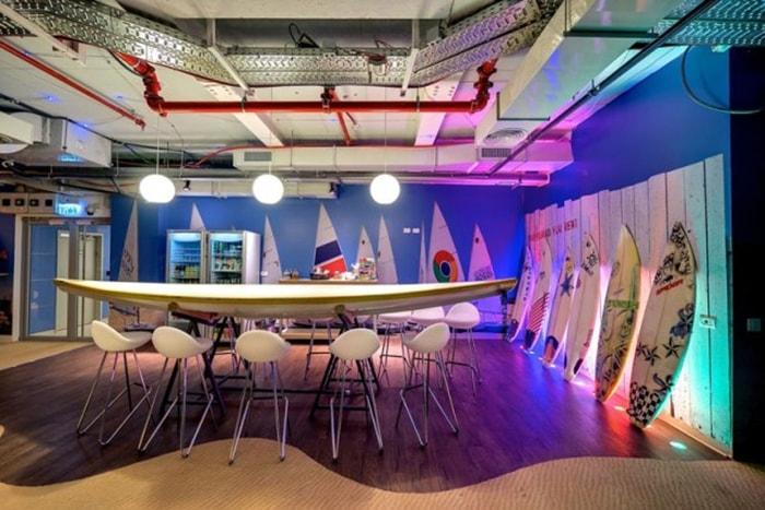 Văn phòng làm việc độc đáo của Google