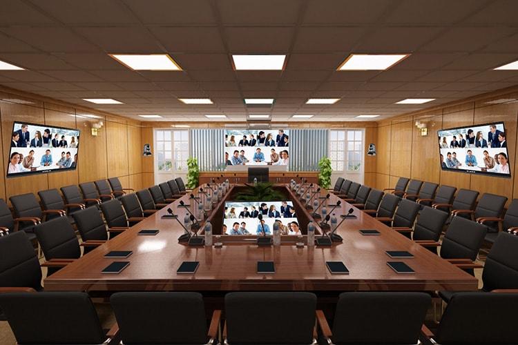Phòng họp trực tuyến không nên cầu kỳ về trang trí