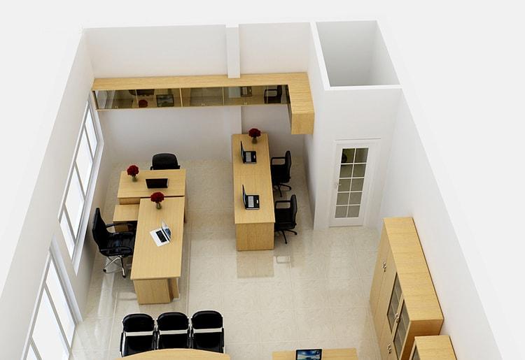 Cách bố trí sắp xếp nội thất văn phòng