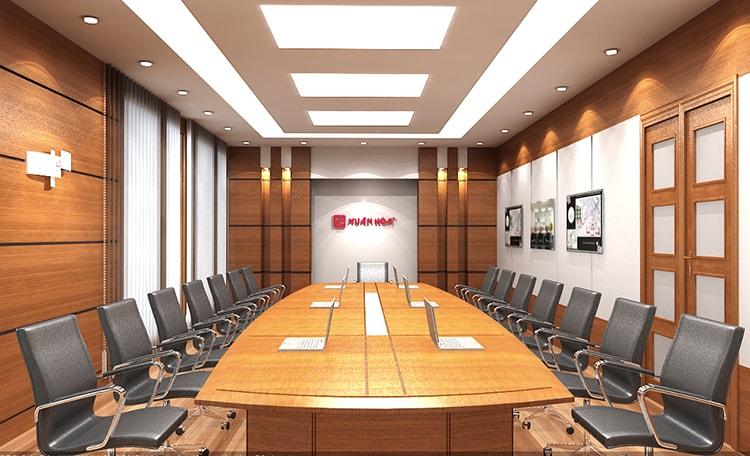 Lựa chọn nội thất sang trọng cho phòng họp đẹp