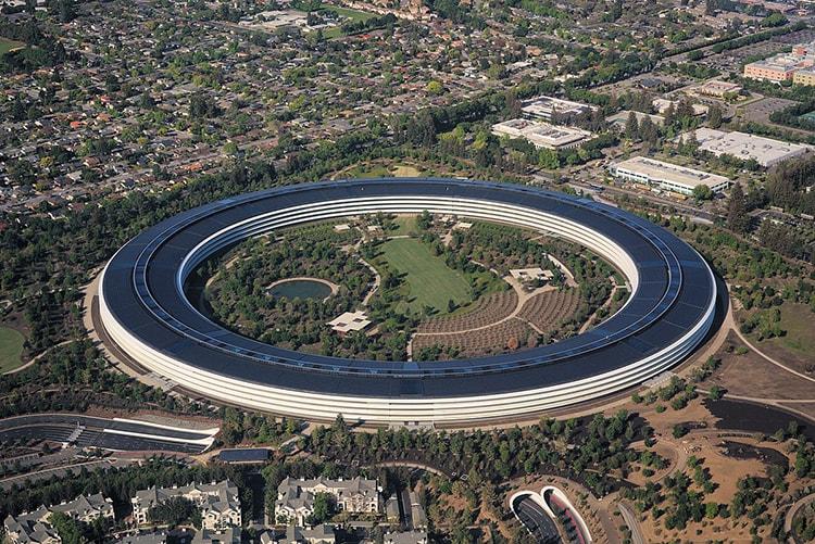 Trụ sở làm việc mới của Apple được lấy ý tưởng từ chiếc phi thuyền