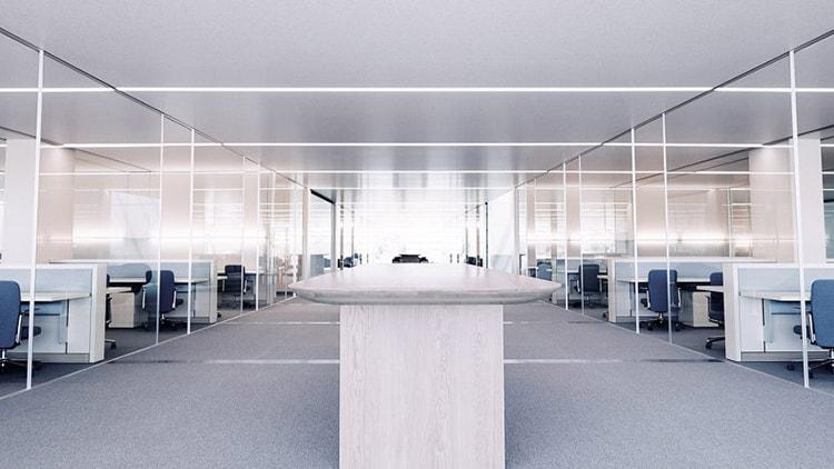 Không gian làm việc của nhân viên hết sức hiện đại