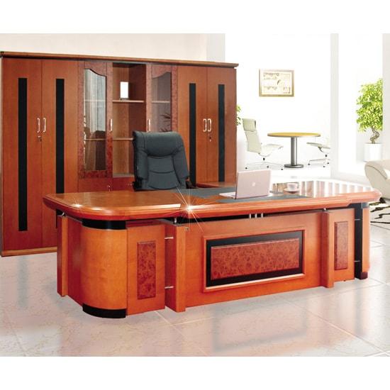 Bộ bàn tủ giám đốc VIP Hòa Phát DC3246VM7