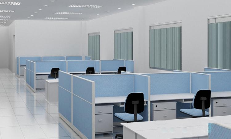 Mẫu thiết kế cho văn phòng làm việc của công ty