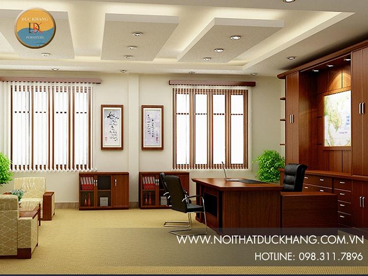 Mẫu thiết kế cho văn phòng làm việc cá nhân