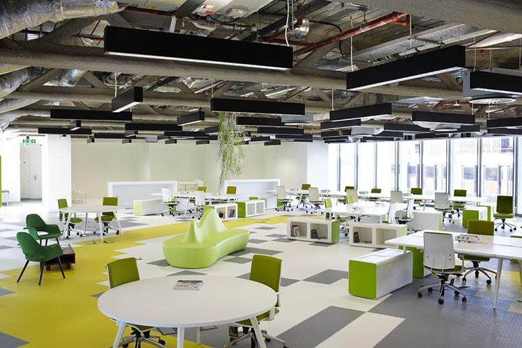 Thiết kế văn phòng chia sẻ