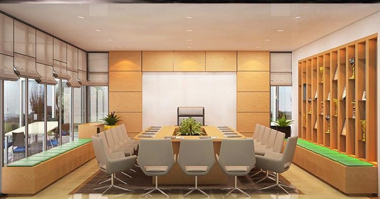 Nội thất phòng họp cần phải chất lượng và thẩm mỹ