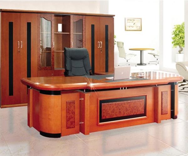 Mẫu bàn giám đốc Hòa Phát DT3212V7