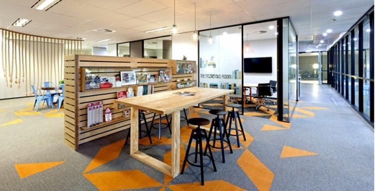 Thiết kế văn phòng đảm bảo tính năng động