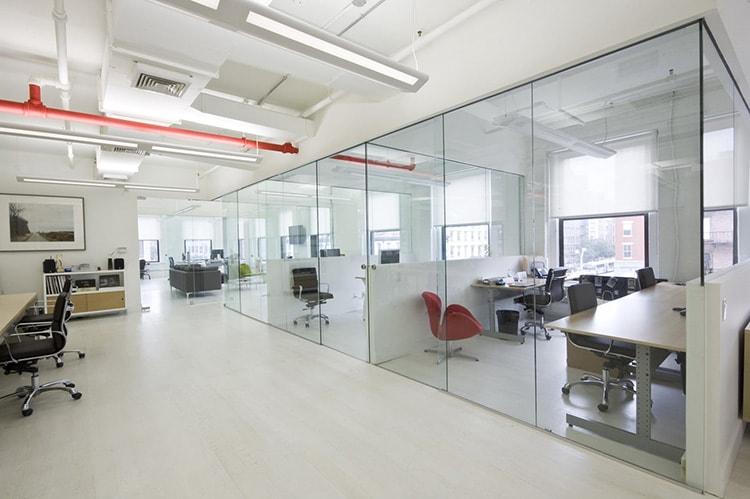 Thiết kế văn phòng đảm bảo tính riêng tư