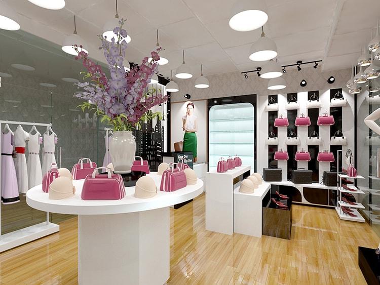 Showroom với ánh sáng lung linh sẽ tạo ấn tượng đẹp đối với khách hàng