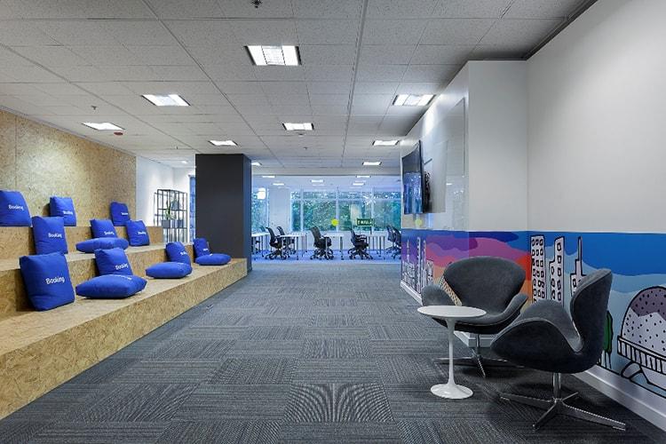 Thiết kế văn phòng công ty du lịch phải có tính độc đáo và khác biệt