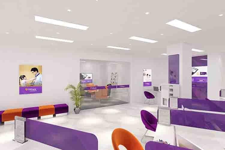 Màu sắc trong thiết kế văn phòng còn mang ý nghĩa nhận diện thương hiệu