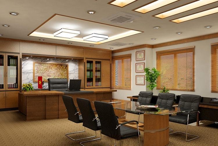 Thiết kế nội thất phòng lãnh đạo bệnh viện