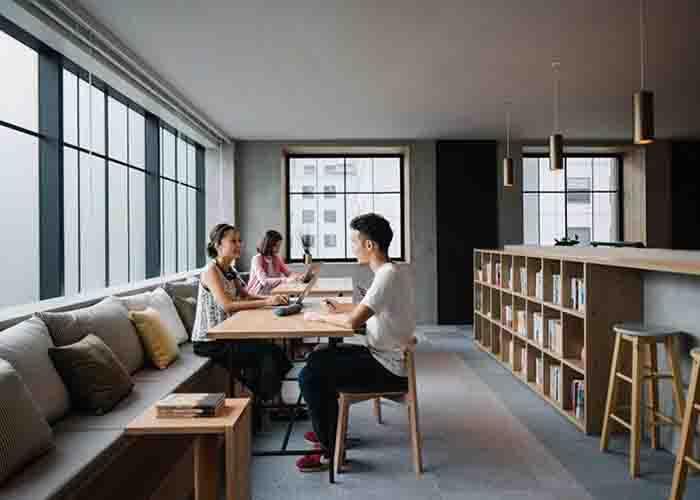 Nội thất văn phòng kiểu Nhật đơn giản mà tinh tế
