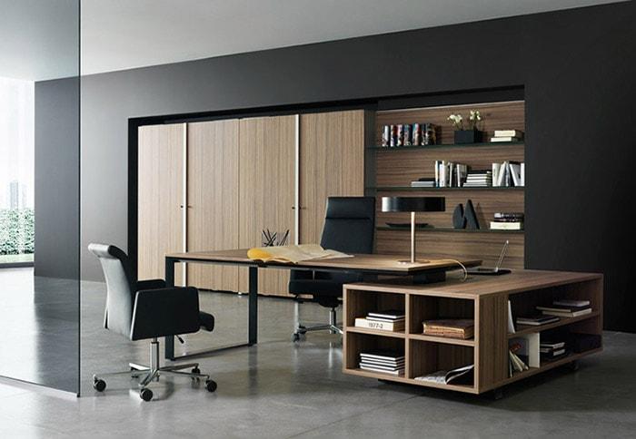 Mẫu thiết kế phòng giám đốc nhỏ gọn nhưng hiện đại và sang trọng