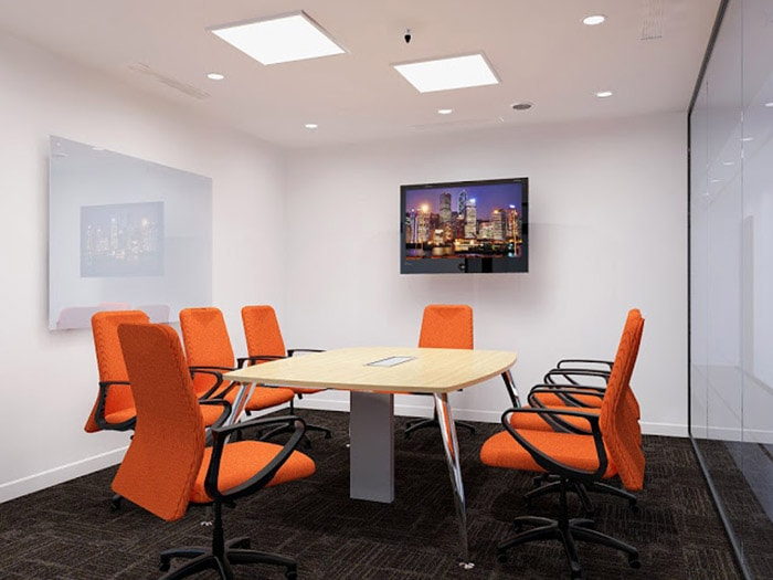 Thiết kế phòng họp doanh nghiệp