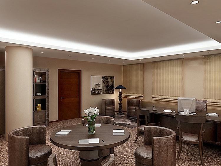 Thiết kế văn phòng họp, hội nghị rộng và đẹp