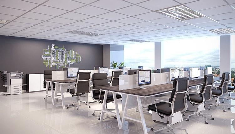 Thiết kế nội thất cho văn phòng 50m2