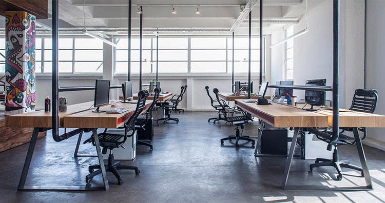 Thiết kế văn phòng phong cách công nghiệp tạo sự mới lạ
