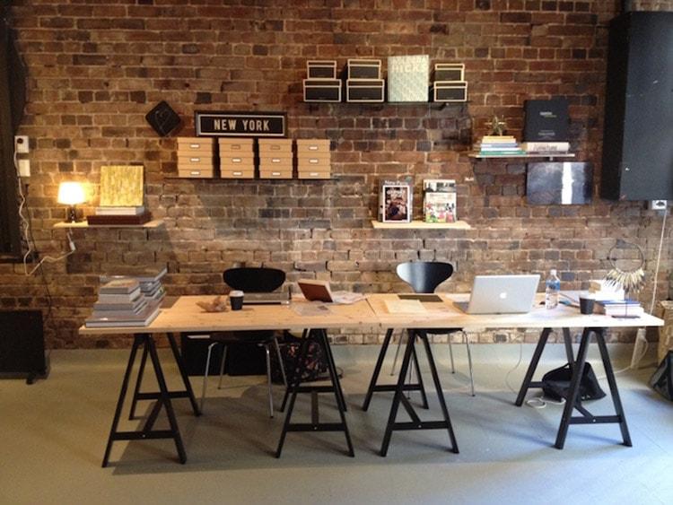 Nội thất văn phòng phong cách công nghiệp khá độc đáo và ấn tượng