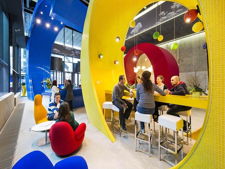 Phong cách văn phòng vui nhộn giúp tạo thương hiệu riêng cho doanh nghiệp